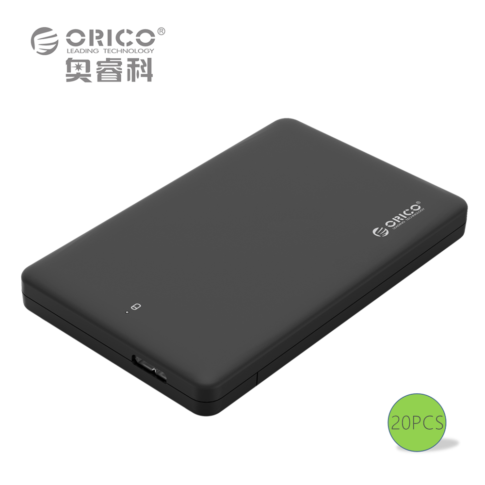 ORICO 2599US3 Sata to USB 3.0 HDD Case Tool Free 2.5 HDD Enclosure for Notebook Desktop PC (Not including Hard Disk Drive) 20PCS(China (Mainland))