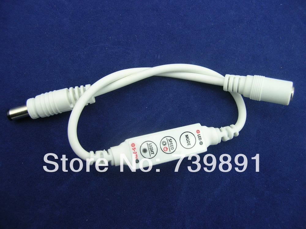 R102 Mini 3-Key Single Color LED Controller/Dimmer(China (Mainland))