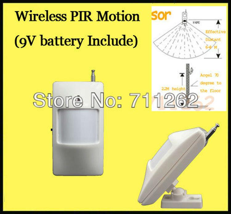 Гаджет  Wholesale Free Shipping 10pieces/Lot PIR detector wireless PIR sensor ,PIR sensor,Wireless Sensor None Безопасность и защита