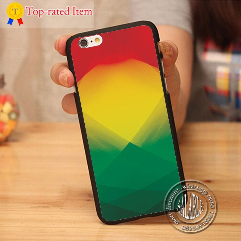2015 Cell Phone Case Modern Reggae Design Printed Hard Plastic Mobile Phone Case for Apple iPhone 5 5s 4 4s 5c 6 6s plus(China (Mainland))