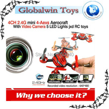 JXD392 Flying camera helicopter 2.4ghz 4 Channel 6 axis gyro RC quad-copter with flying camera helicopter RC UFO quadcopter kit