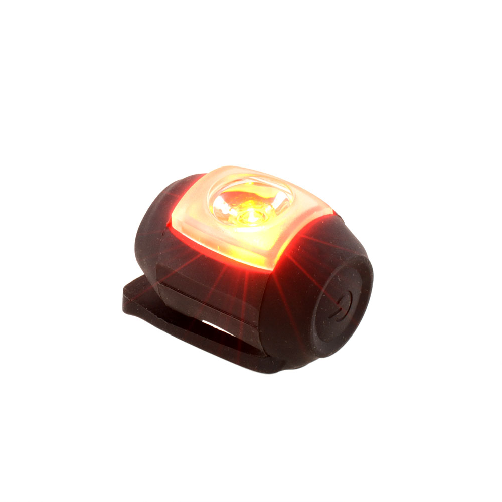 Гаджет  Silicone Black USB Rechargeable LED Back Rear Tail Light Taillight for Bike Bicycle MTB Cycling Outdoor Durable Bright None Спорт и развлечения