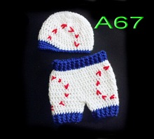 free shipping,200set baby handmade crochet newsboy hat with matching shorts for Newborn Photo Prop NB-3M 100% cotton(China (Mainland))