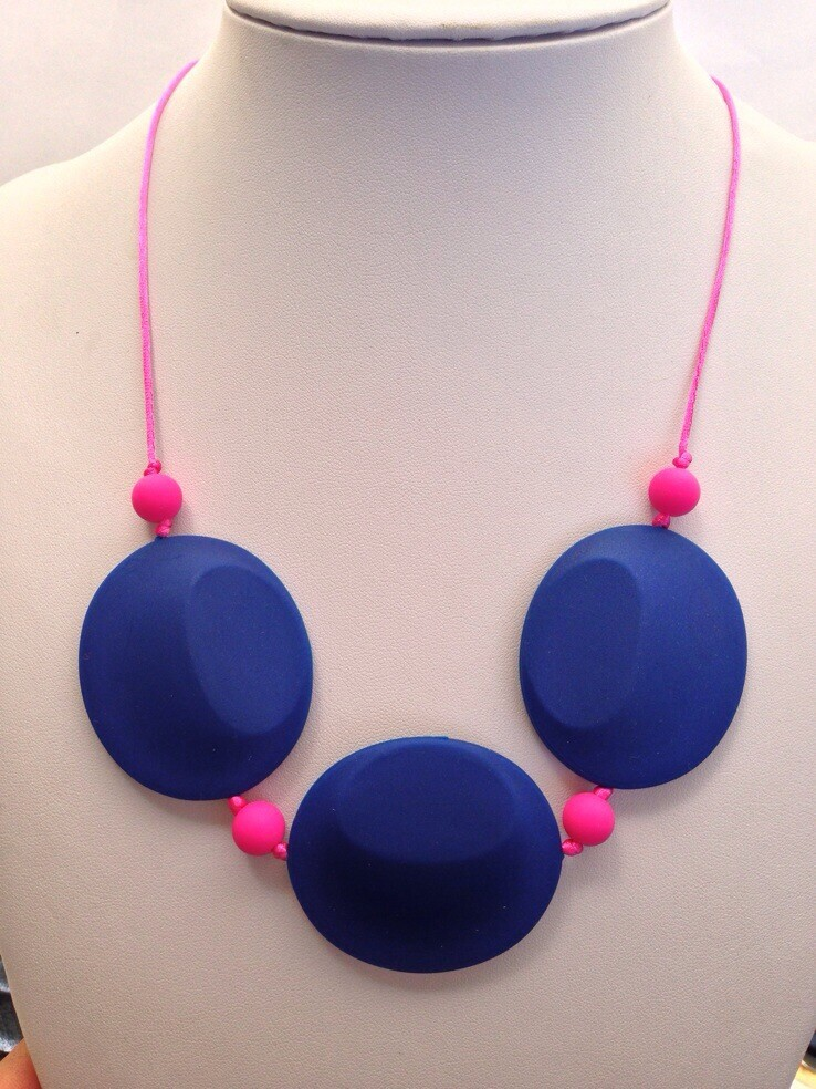 HOT!!! 10PCS/LOT NEW Silicone Teething Necklace Nursing Necklace silicone pendant crochet necklace free shipping(China (Mainland))