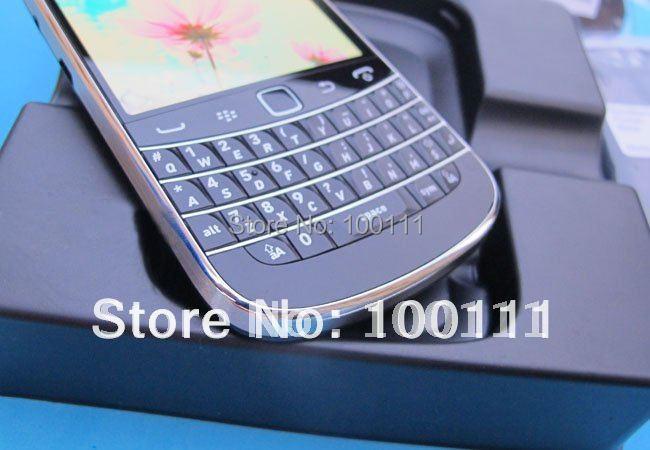 2 pcs/lot & 100% Original Unlocked blackberry 9900 mobile phone Wholesale with Free shipping(Hong Kong)