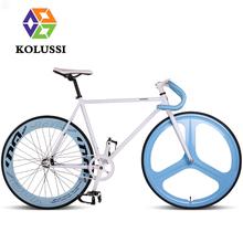 KOLUSSI 700CC*23C Magnesium Alloy Mitoya Fixie Racing Bike Downhill Male Students Leisure Cycling 26 Fixed Gear Bicycle(China (Mainland))