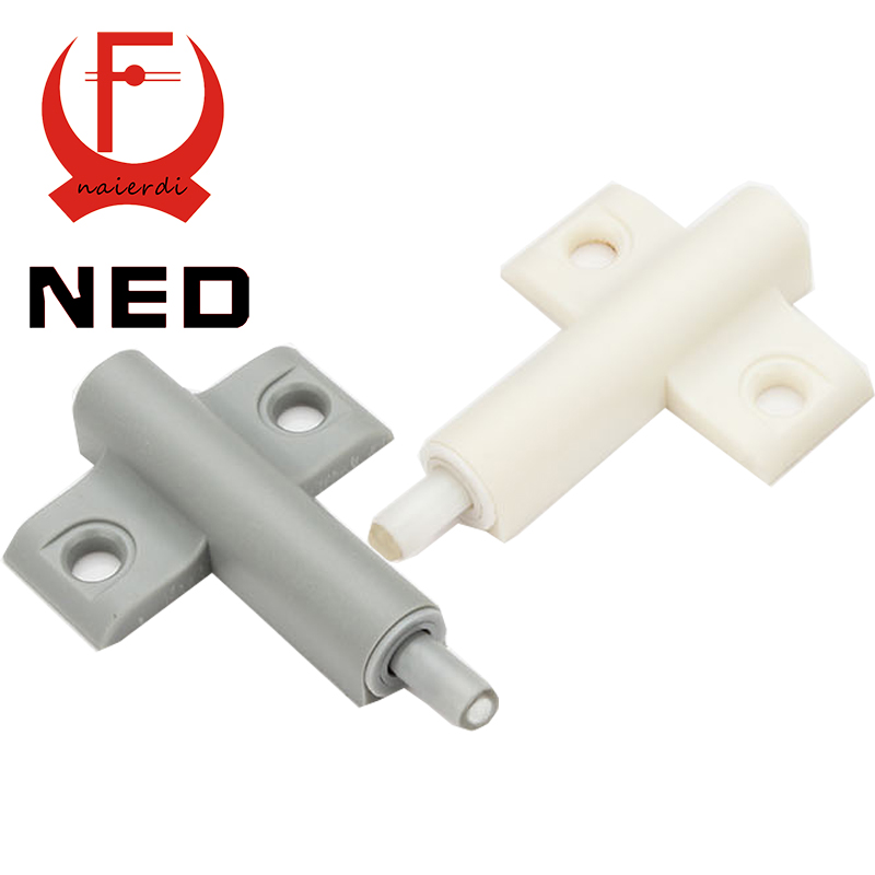 NED High Quality 20Set/Lot Gray White Kitchen Cabinet Door Stop Drawer Soft Quiet Close Closer Damper Buffers Cabinet Catches(China (Mainland))
