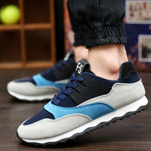 2016 NEW Air mesh men casual shoes trainers Breathable canvas shoes men Tenis Patchwork Flat shoes men Zapatillas Hombre
