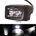 2x 1000LM 10W CREE Chip LED Offroad Work Light Worklight Off Road Bar Flood Spot Beam