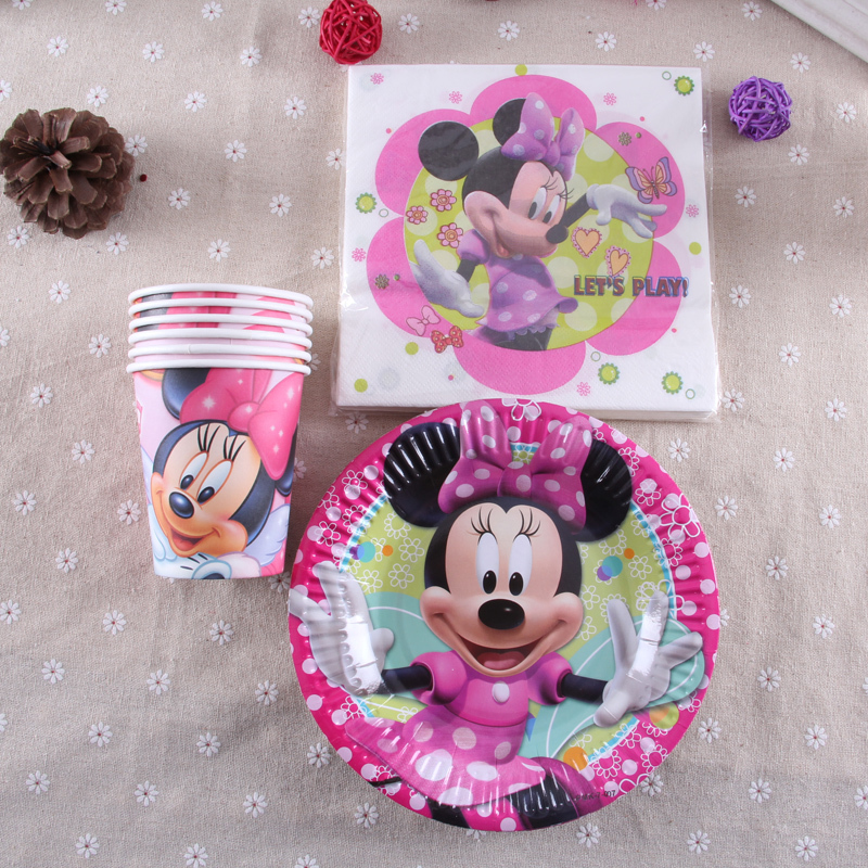 Minnie mouse birthday decorations for sale image for Baby minnie mouse party decoration