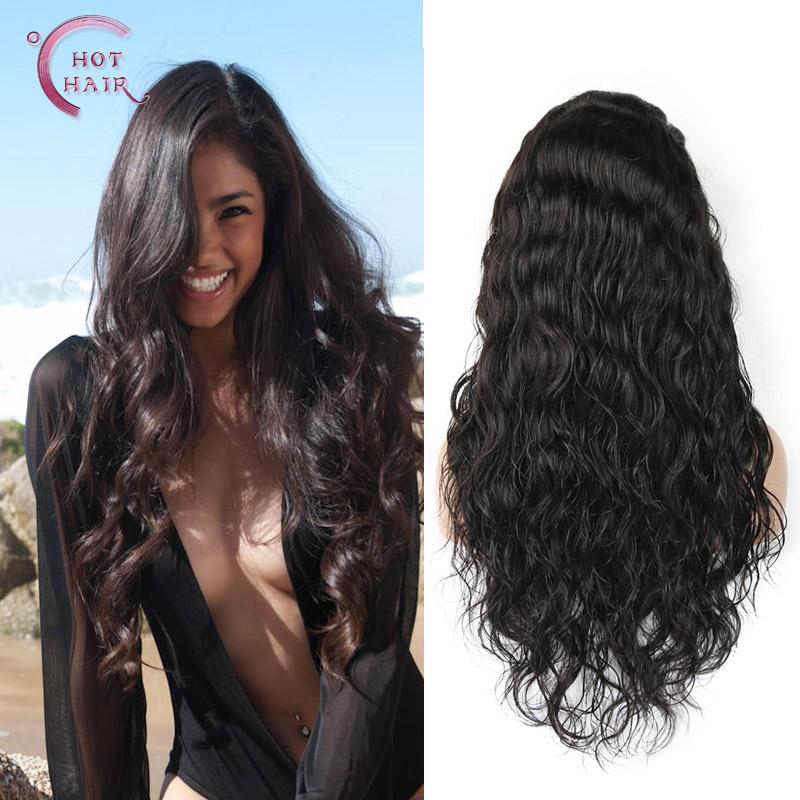 Virgin Indian Human Hair Full Lace Wigs 109