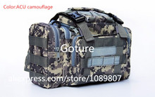 Outdoor bag lure bag fishing tackle bag multifunctional Camouflage waist pack messenger bag fishing tackle fishing lure outdoor(China (Mainland))