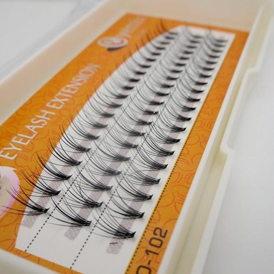 Eyemix Knot Free Eyelash 10cps/knot Individual Extension 60knots False Lower Eyelashes Eye Makeup Tool Freeshipping - The Miss Beauty store
