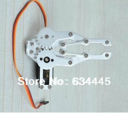 Robot Clamp Gripper Mount kit With One MG995 Servo for Robot Arduino