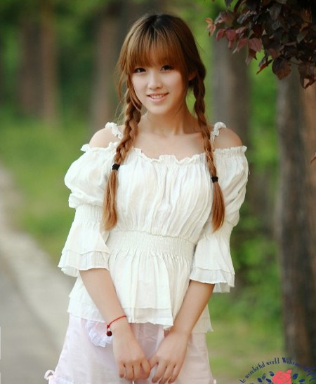Princess Sweet Lolita blouse Royal gothic lolita strapless summer doll slit neckline ruffle shirt white lace black