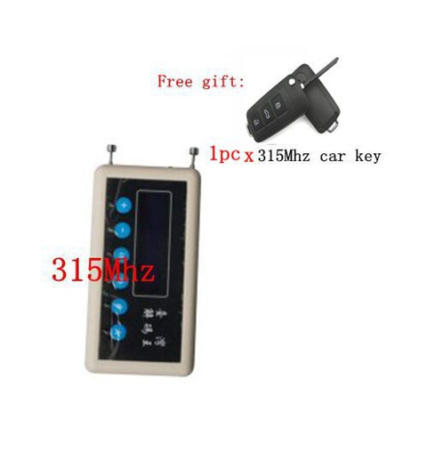 XQautopart by DHL 315Mhz Remote Control Code copier 315Mhz Wireless Code Decoder Wireless Remote Scanner(China (Mainland))