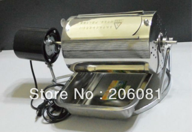 Home coffee roaster (factory directly sale) with thermostat suit for stove