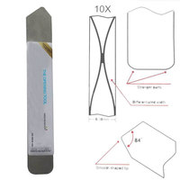 Free shipping!!10pcs/lot 2014  soft thin Styles repair pry Mobile computer Screen to Opening Tools Steel Blade