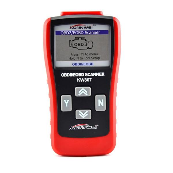 KW807 OBD2 OBD II Scanner Car Computer Vehicle Diagnostics Tool GS500 Models Car Diagnostic Auto Scanner(China (Mainland))