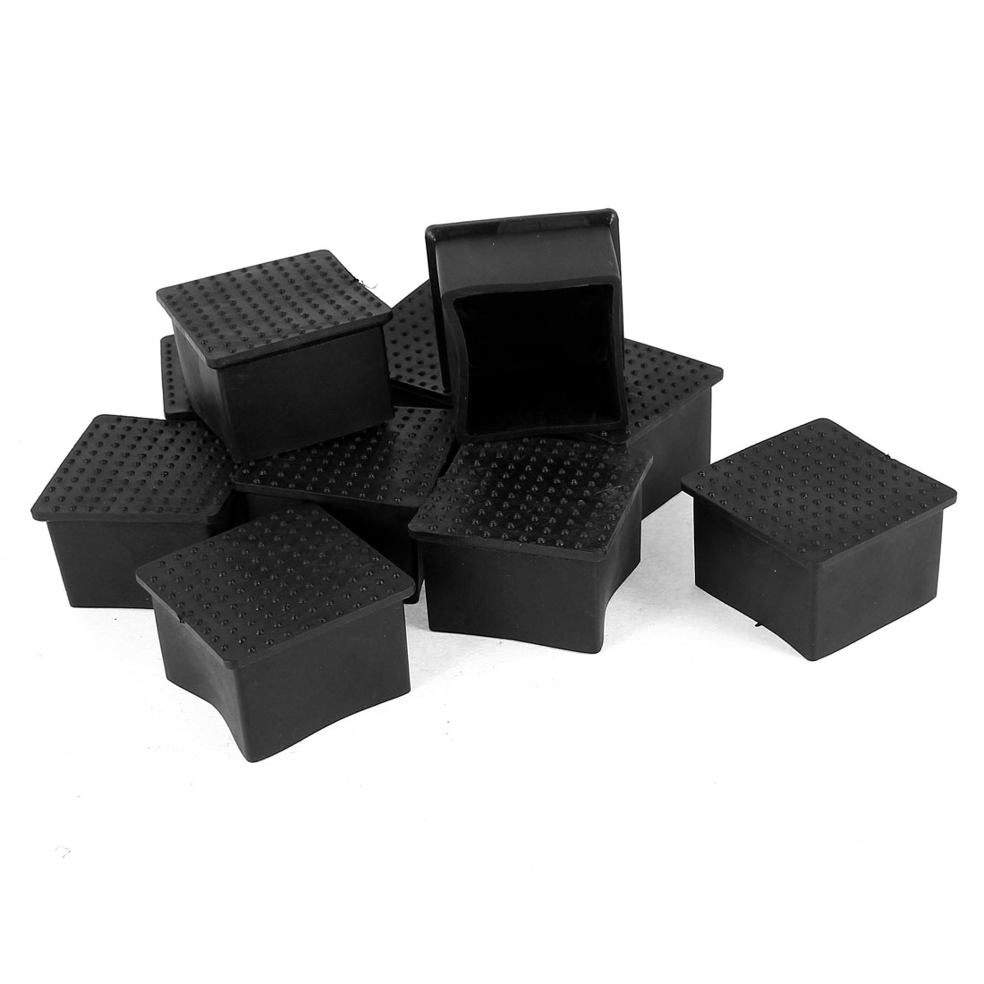 10 Pieces 45mmx45mm Chair Table Foot Protective Cover Pad Home Furniture Leg Cap Diameter(China (Mainland))