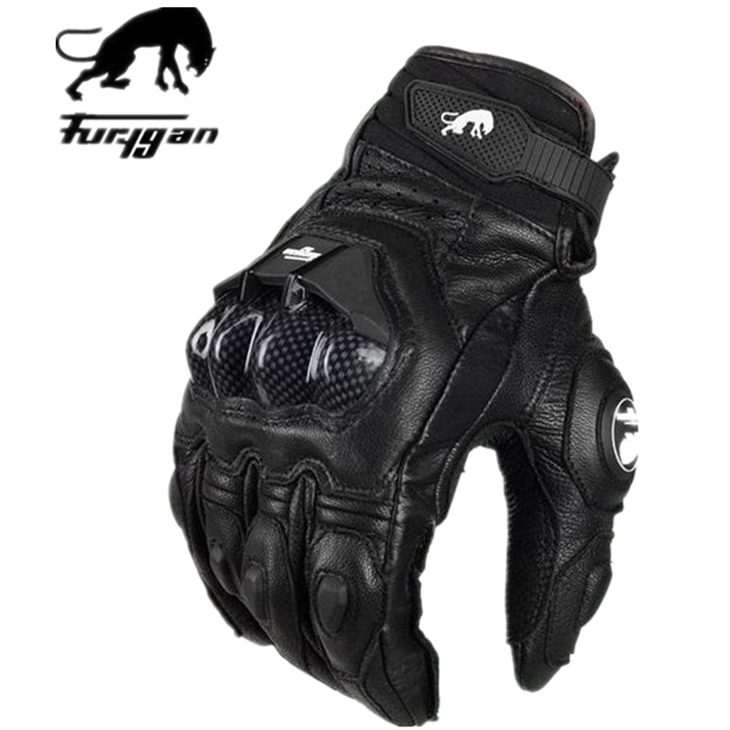 Professional Jaguar Furygan AFS 6 motorcycle racing gloves carbon fiber leather guantes motorcycle<br><br>Aliexpress