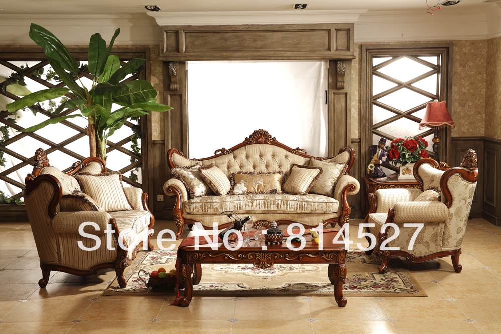Free door to door by sea royal palace franch style european style luxury furniture living room - Add luxurious look home royal sofa living room ...