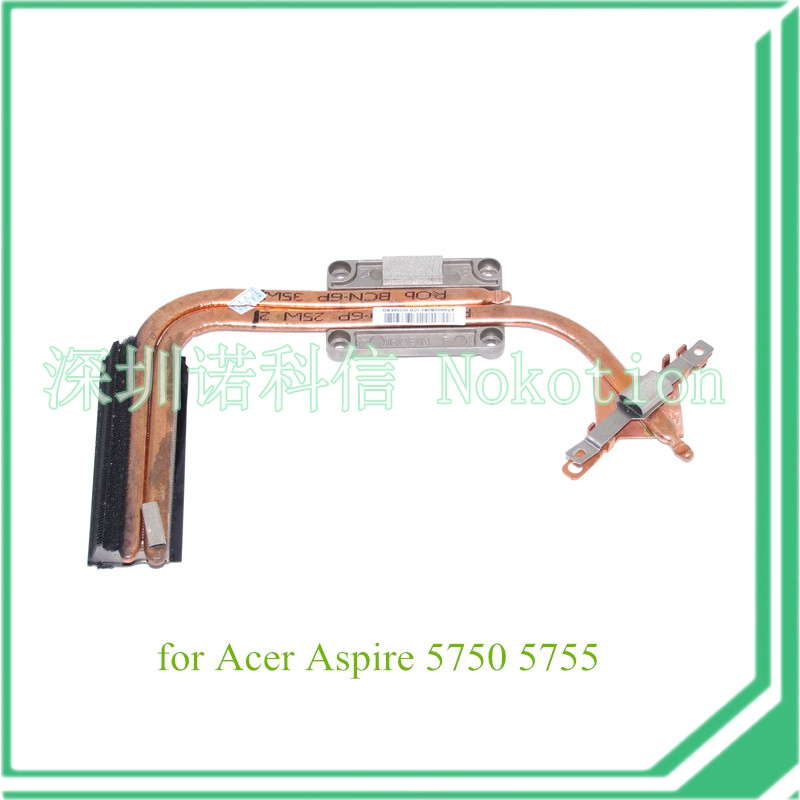 notebook heatsink replacement for Acer Aspire 5750 5755 for Gateway NV57 NV57H84u AT0HI00B0R0(China (Mainland))