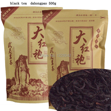 500G Top Grade 2016 clovershrub Da Hong Pao Red Robe dahongpao Oolong Tea Lose weight the tea black antifatigue free shipping(China (Mainland))
