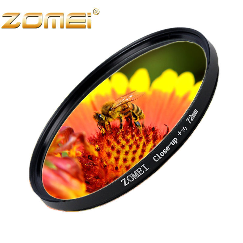 ZOMEI 55mm glass Lens Filter MACRO Close-Up +10 For Panasonic Hoya Fuji flim New(China (Mainland))