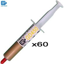 Buy GD450 Thermal Conductive Grease Paste Silicone Plaster Heat Sink Compound 60 Pieces Net Weight 15 Grams Golden LED CPU SY15 for $37.50 in AliExpress store