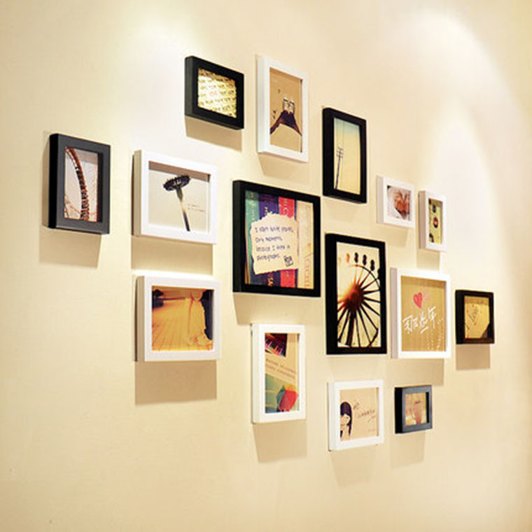 Wonderful How To Decorate A Wall With Picture Frames Photos - Wall ...