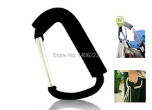 HOT shopping Stroller Hook Baby Stroller Hook Door Hook Black Color Free Shiping(China (Mainland))