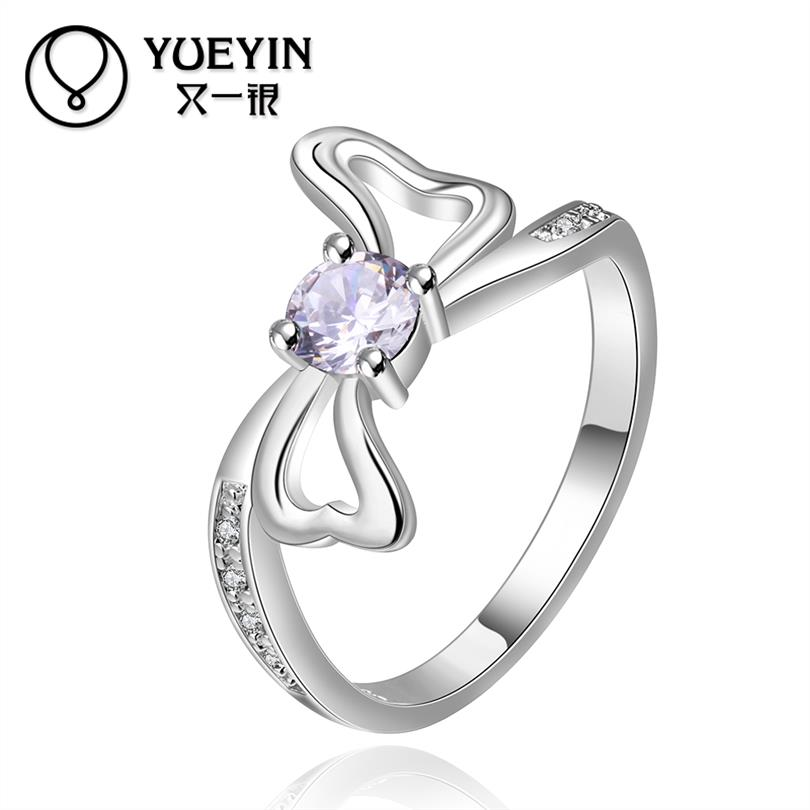 YUEYIN Wedding Rings Sapphire Jewelry 925 Sterling Silver Fine Jewelry Rings Toe Ring Joias Anello Kristallen Sieraden(China (Mainland))