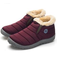Nuevo 2016 de La Moda de Invierno Hombres de nieve botas Añadir Lana Mantener wram zapatos de Tela zapatos de Los Hombres de Alta calidad 39-44 envío gratis(China (Mainland))