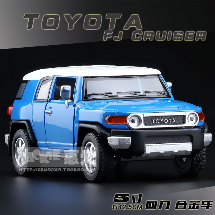 High Simulation Exquisite Baby Toy New and Original TOYOTA FJ Cruiser SUV Model Decoration 1:36 Alloy SUV Model Excellent Gifts(China (Mainland))