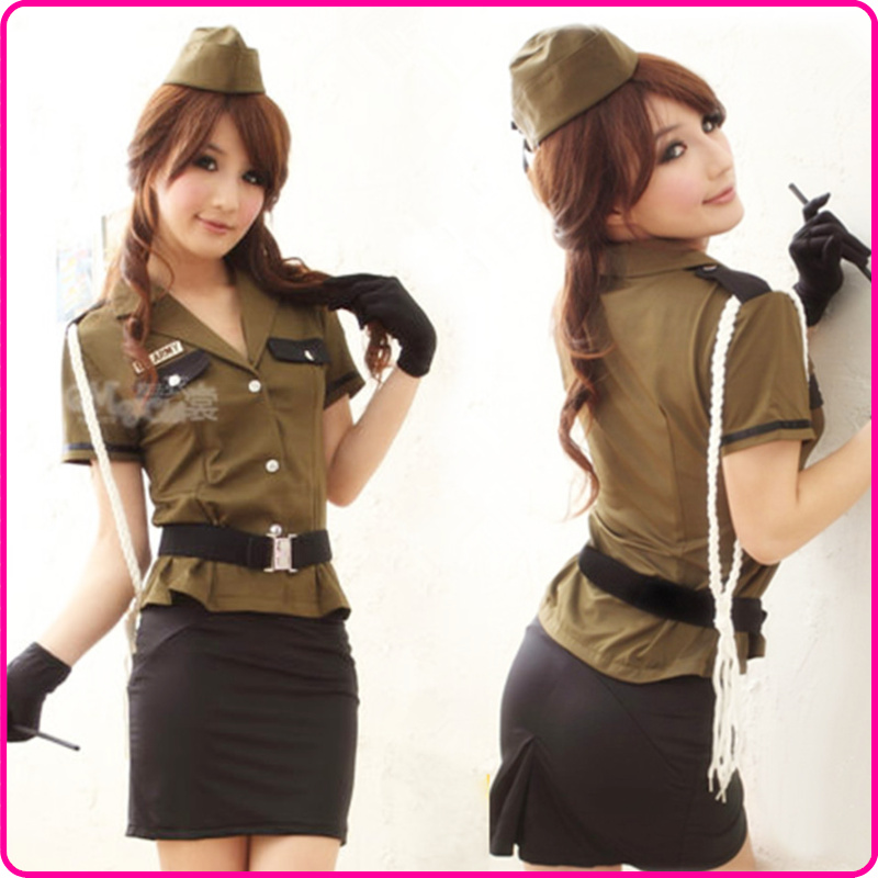 Uniform female police uniform photography services sexy car models ds dance clothes costume stewardess clothing(China (Mainland))