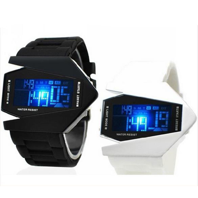 top colorful fighter digital watches men watch silicone led wristwatch reloj hombre relogio. Black Bedroom Furniture Sets. Home Design Ideas