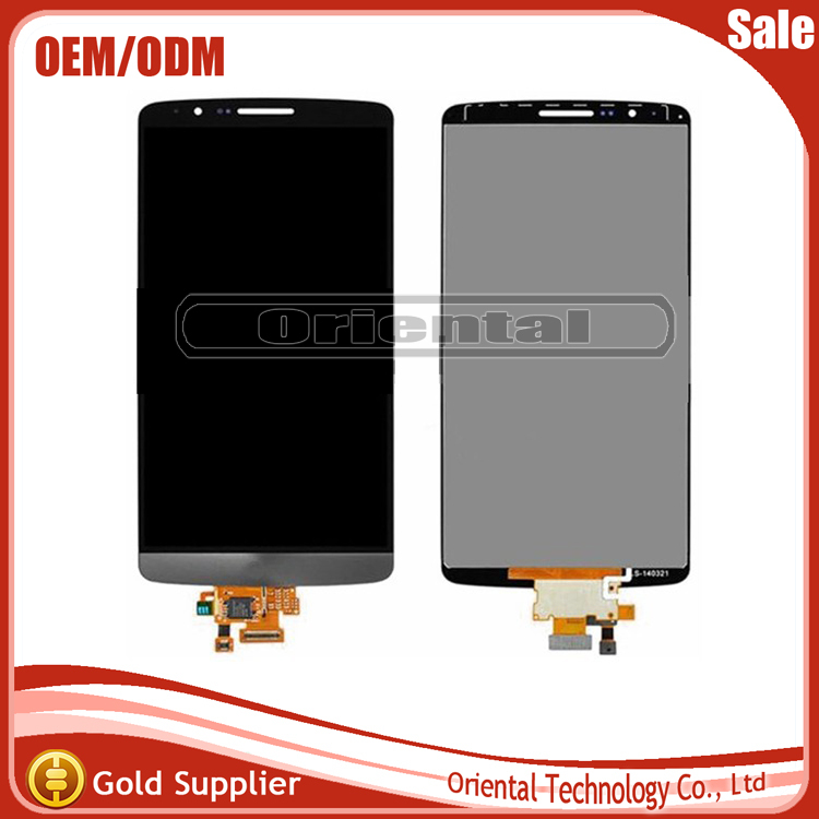 Free Shipping For LG Optimus G3 mini D722 D724 LCD screen display with touch screen digitizer assembly  with no frame