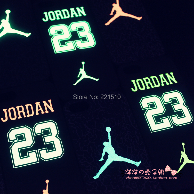 Sport Basketball Air Jordan Noctilucent Plastic hard case cover for iPhone 5 5s case cover skin P001(China (Mainland))