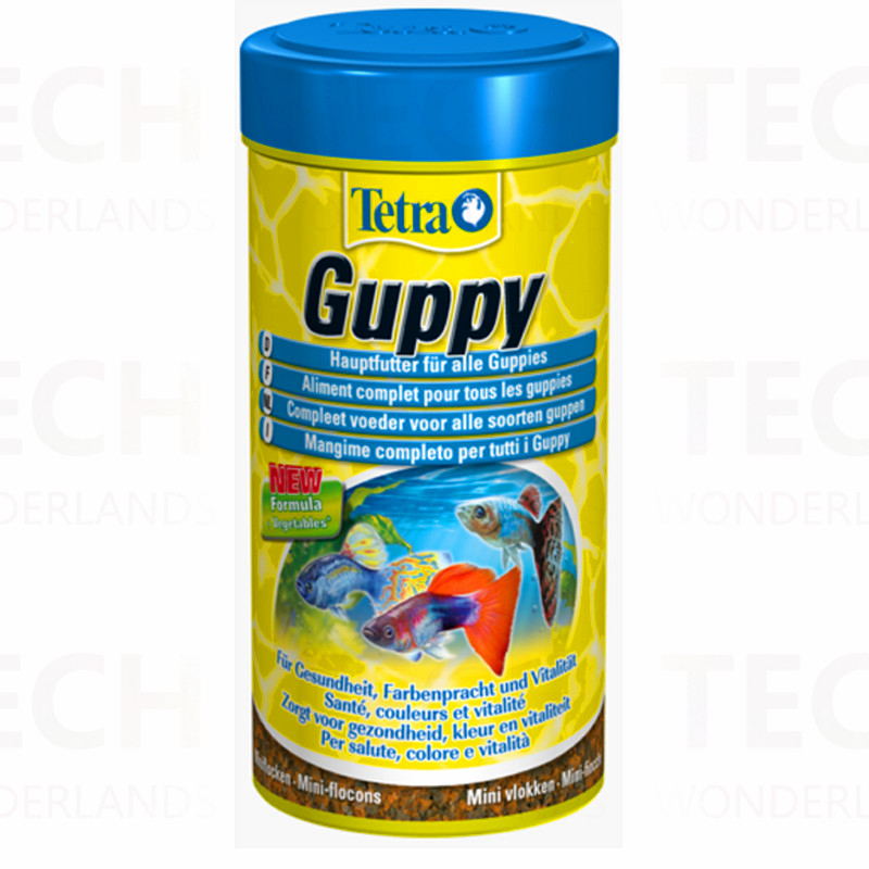 Tetra Guppy Fish Food Miniature Flakes Style Top Quality Made in Germany 30g/75g(China (Mainland))