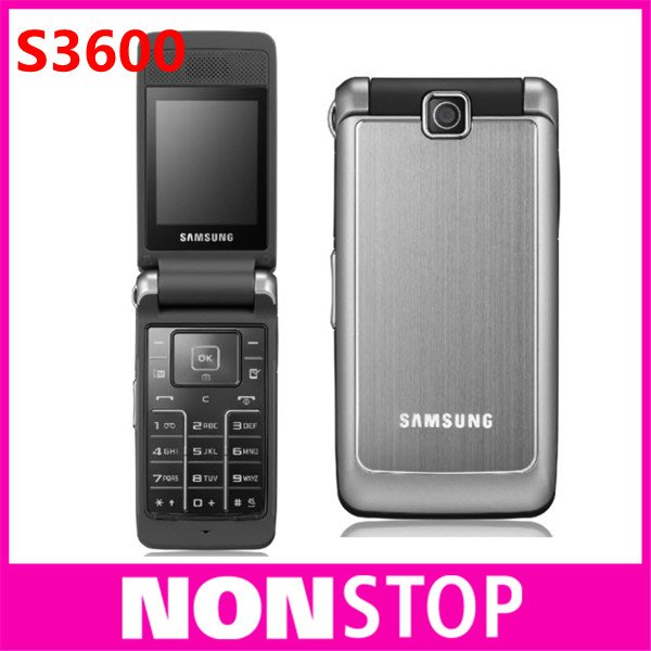 Samsung S3600 Unlocked Original s3600 Mobile Phone 1 year warranty Free Shipping Refurbished(China (Mainland))