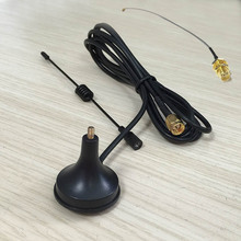 Buy 2.4Ghz 3dbi sucker wif antenna magnetic base extension cable 1.5m SMA male connector + IPX / u.fl SMA Female Pigtail for $4.32 in AliExpress store