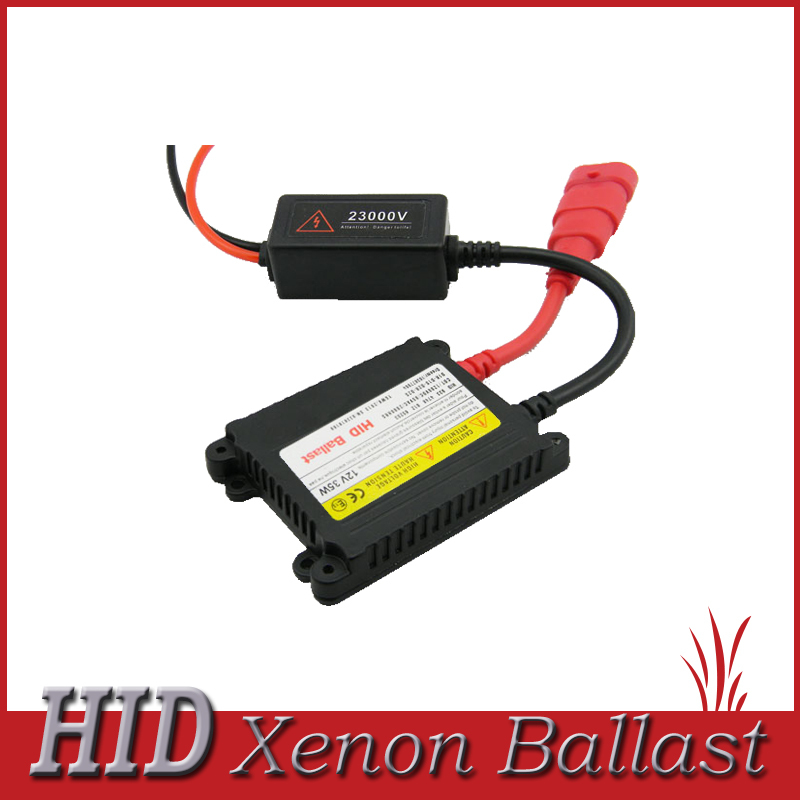 FREE SHIPPING 35W Xenon HID Slim Ballast Blocks Ignition Igniters for H1 H4 H7 H11 9005 9006 881 4300k 6000k 8000k xenon kit(China (Mainland))