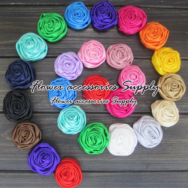 cheap wholesale 120pcs/lot,High quality Gorgeous rosette flower,mixed 20 colors,flower headbands,hair/shoes/apparel accessories.Одежда и ак�е��уары<br><br><br>Aliexpress