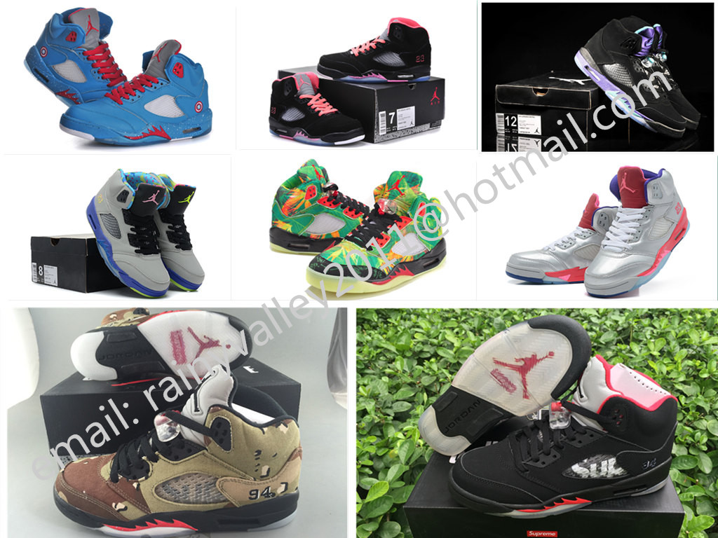 Fast shipping 2016 new air jordan 5 retro shoes women euro size 36 to 40 US 5.5 to 6.5 7 8 8.5 with original box(China (Mainland))