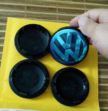 [Super Deal]4x 65mm VW wheel center cap cover Volkswagen Hub Cap Logo EOS Golf Jetta Mk5 Passat B6 VW 3B7 601 171 Free Shipping(China (Mainland))