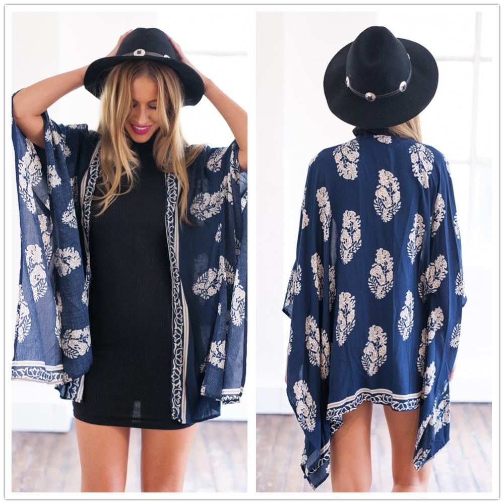 Long Sleeve Beach Cover Up Plus Size