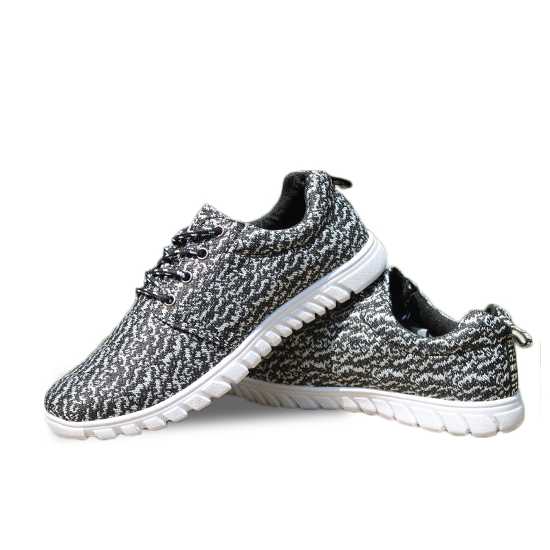 lace-up flats low top soft sole breathable not yeezy exercise comfortable air mesh fashion Men Women casual shoes(China (Mainland))
