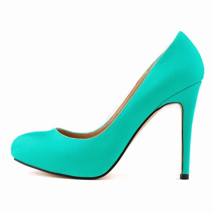 Smynlk-10007c 2015 Sexy Women Pumps 11cm Basic High Heels Platform Party Dance Shoes Fashion Pump Red Shoes Womens Wedding Shoe <br><br>Aliexpress