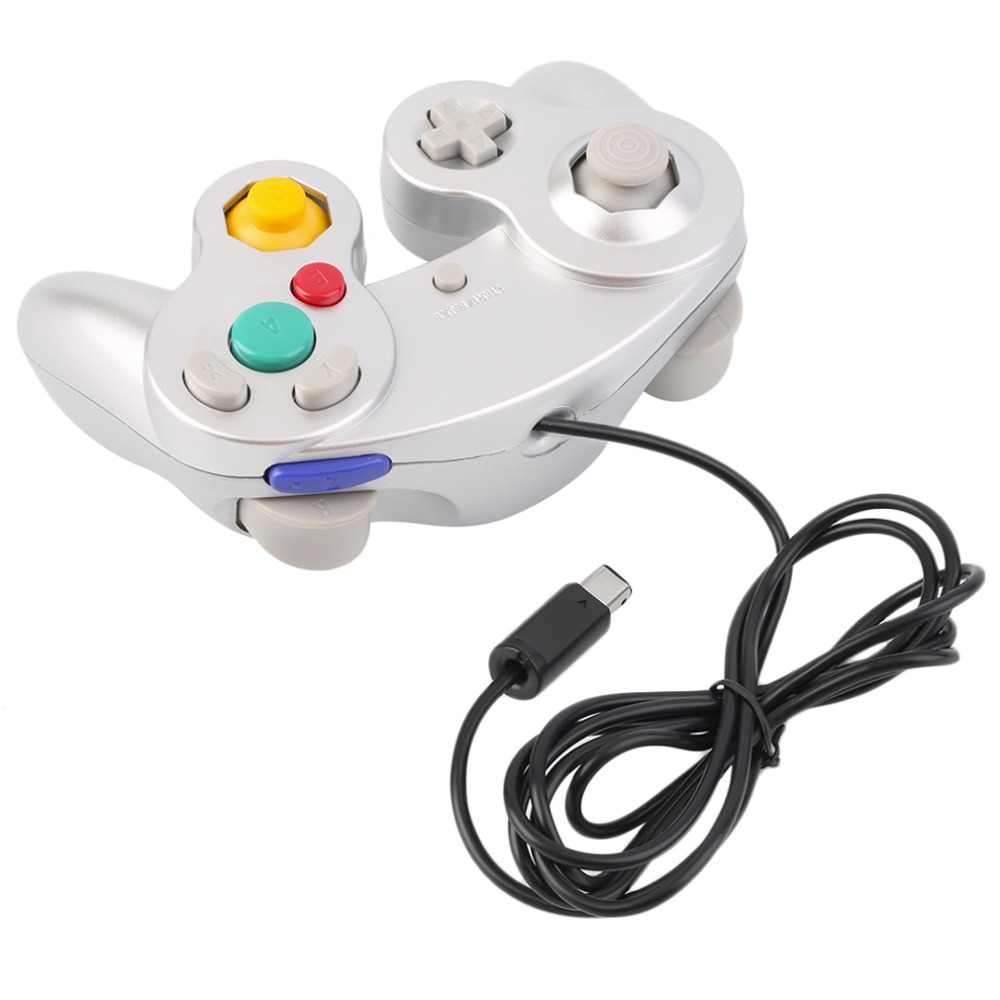 New Game Controller Gamepad Joystick for Nintendo for GameCube For Wii Platinum Purple(China (Mainland))